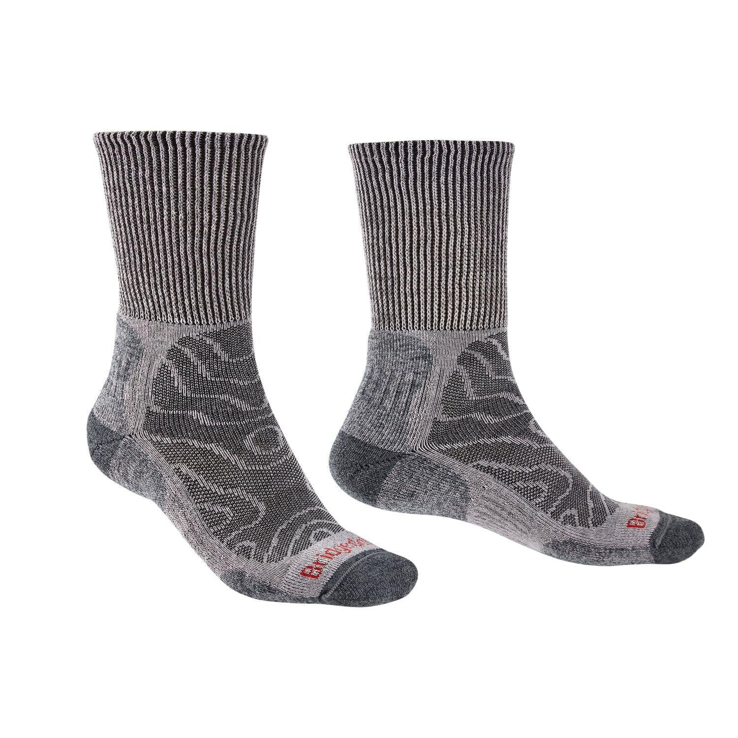 Bridgedale MERINO HIKE Comfort Socks (Lightweight Grey)