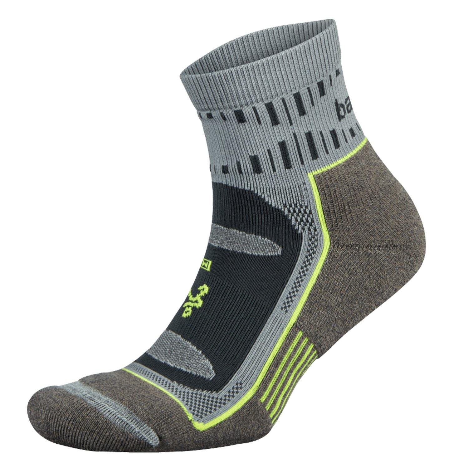Balega Blister Resist Quarter Crew Socks - Mink/Grey