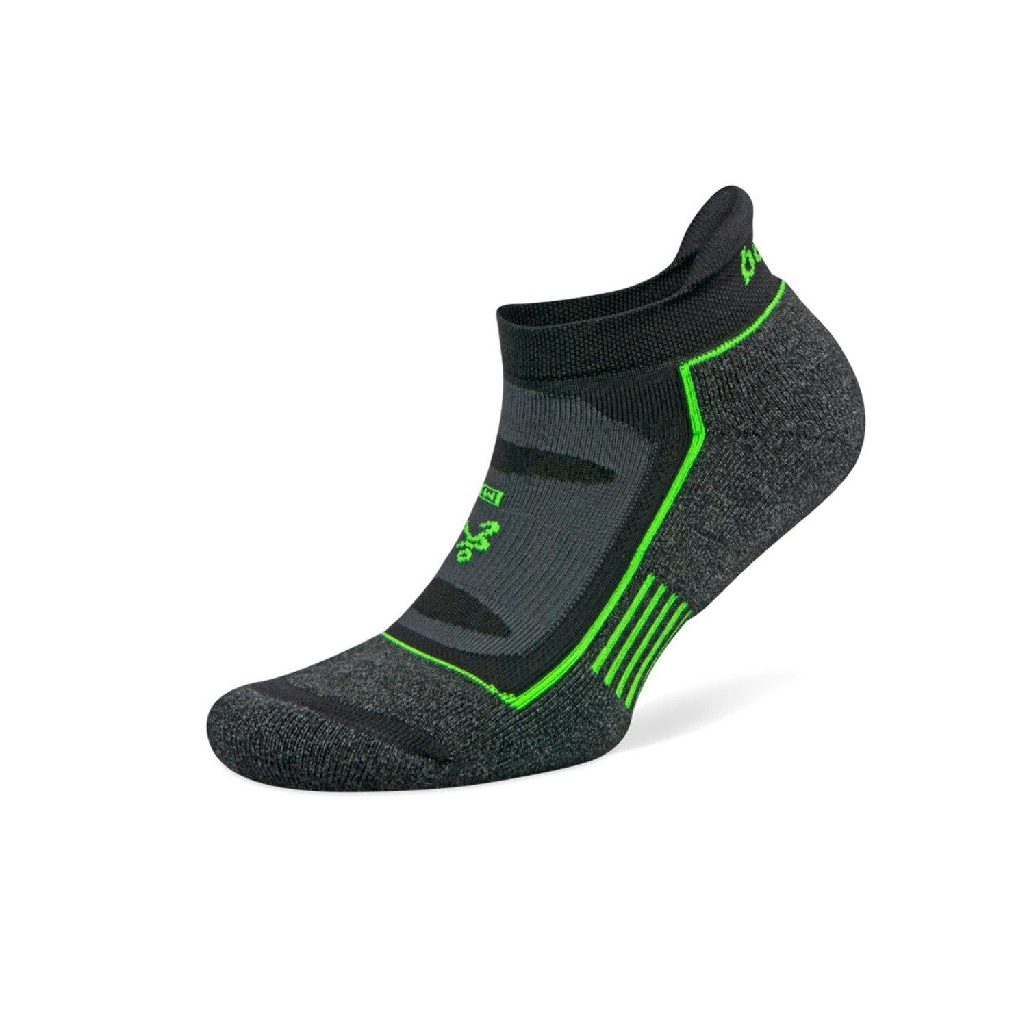 Balega Blister Resist No Show Socks - Charcoal/Black