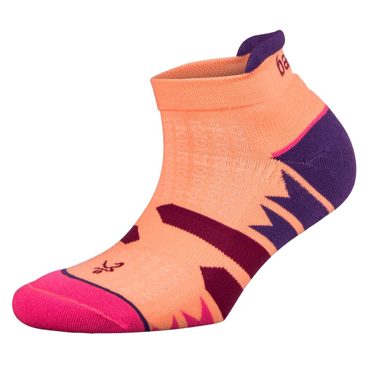 Balega Enduro Women's No Show Socks - Purple/Peach