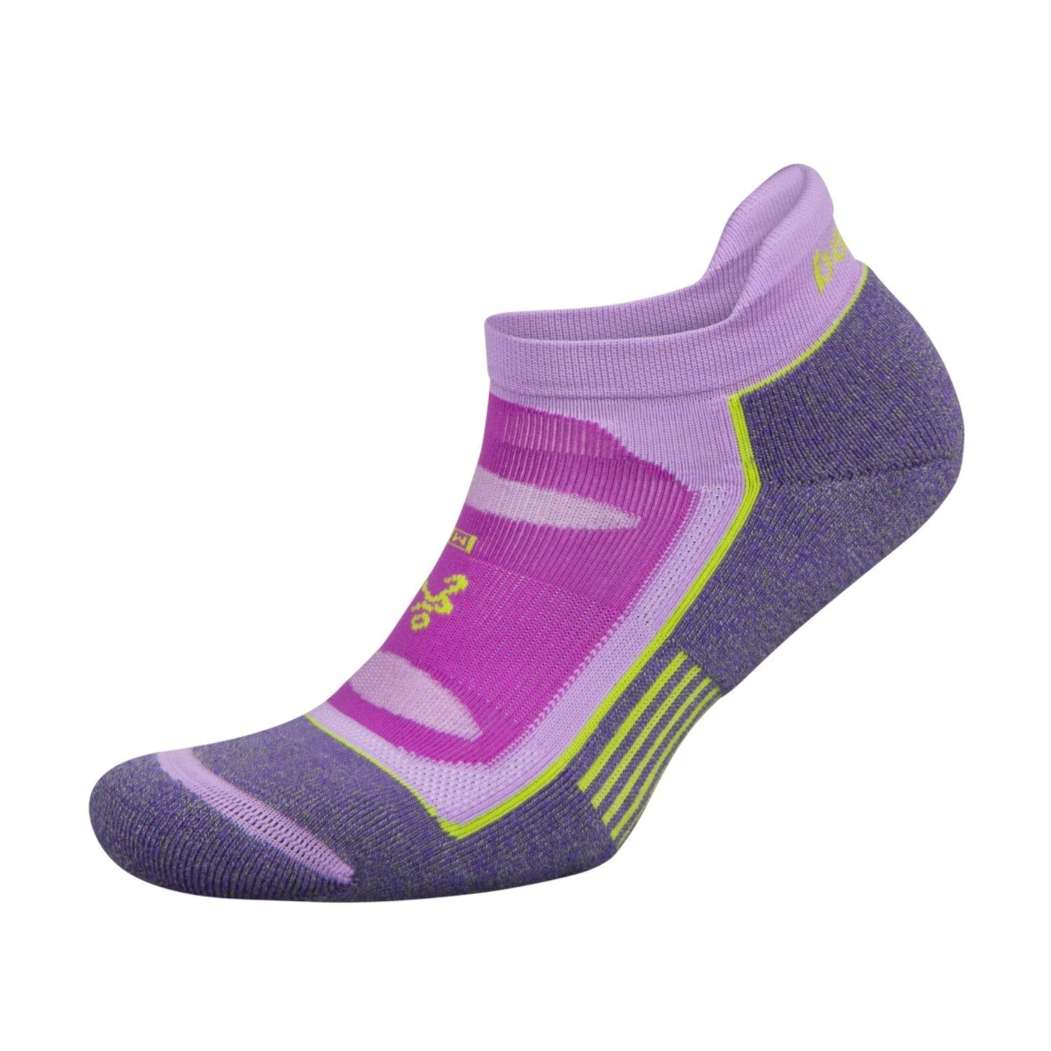 Balega Blister Resist No Show Socks - Ultra Violet/Bright Lilac
