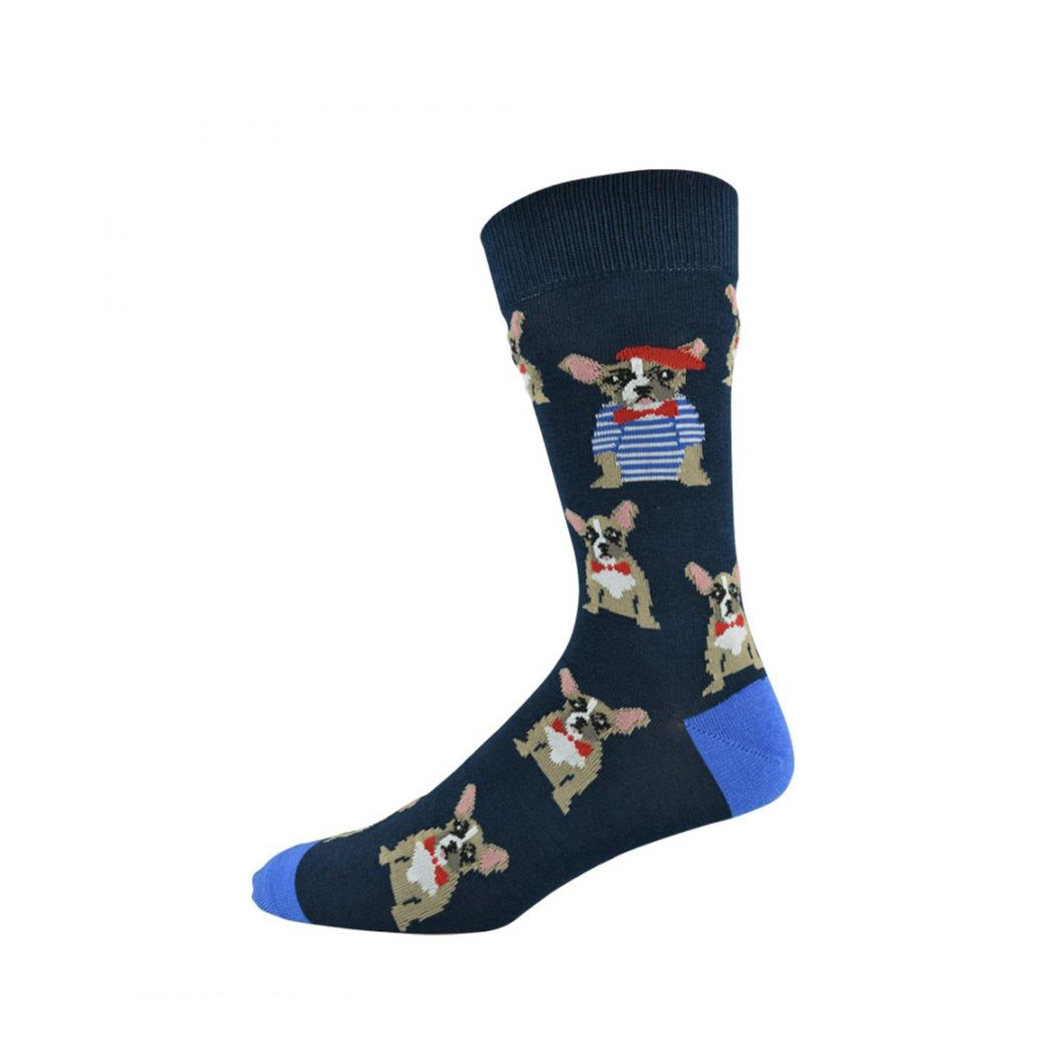 Bamboozld Men's Bamboo Socks - Frenchy