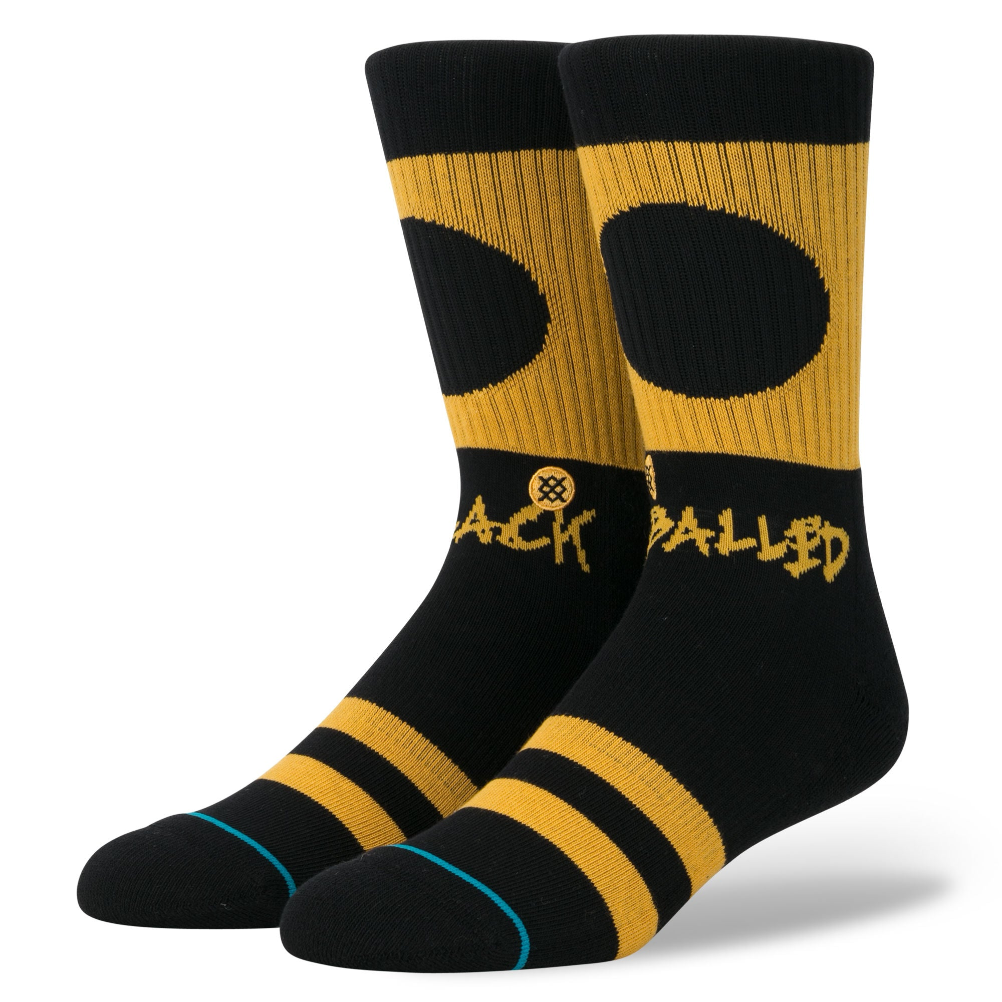 Stance Black Balled Socks | Stance Men's Socks