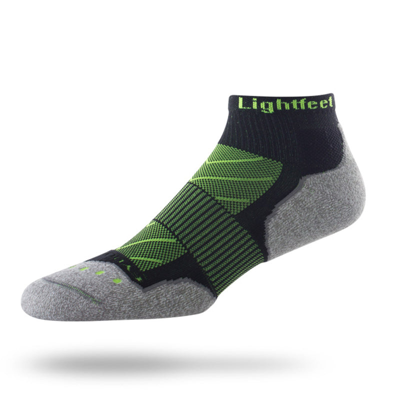 Lightfeet Evolution Mini-Crew - Black/Fluro Green