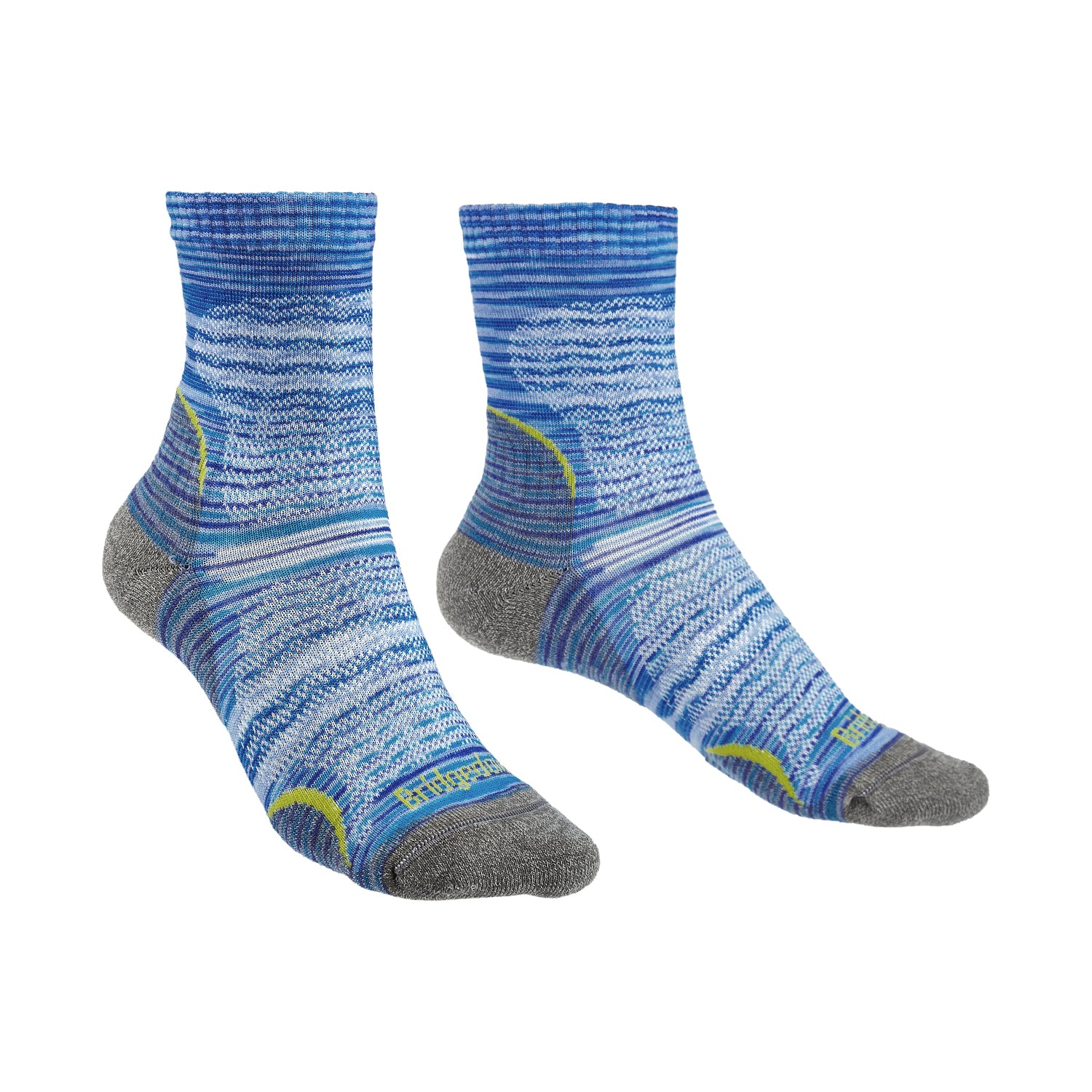 Bridgedale Women's MERINO Performance HIKE Socks (Ultra Light - Blue)