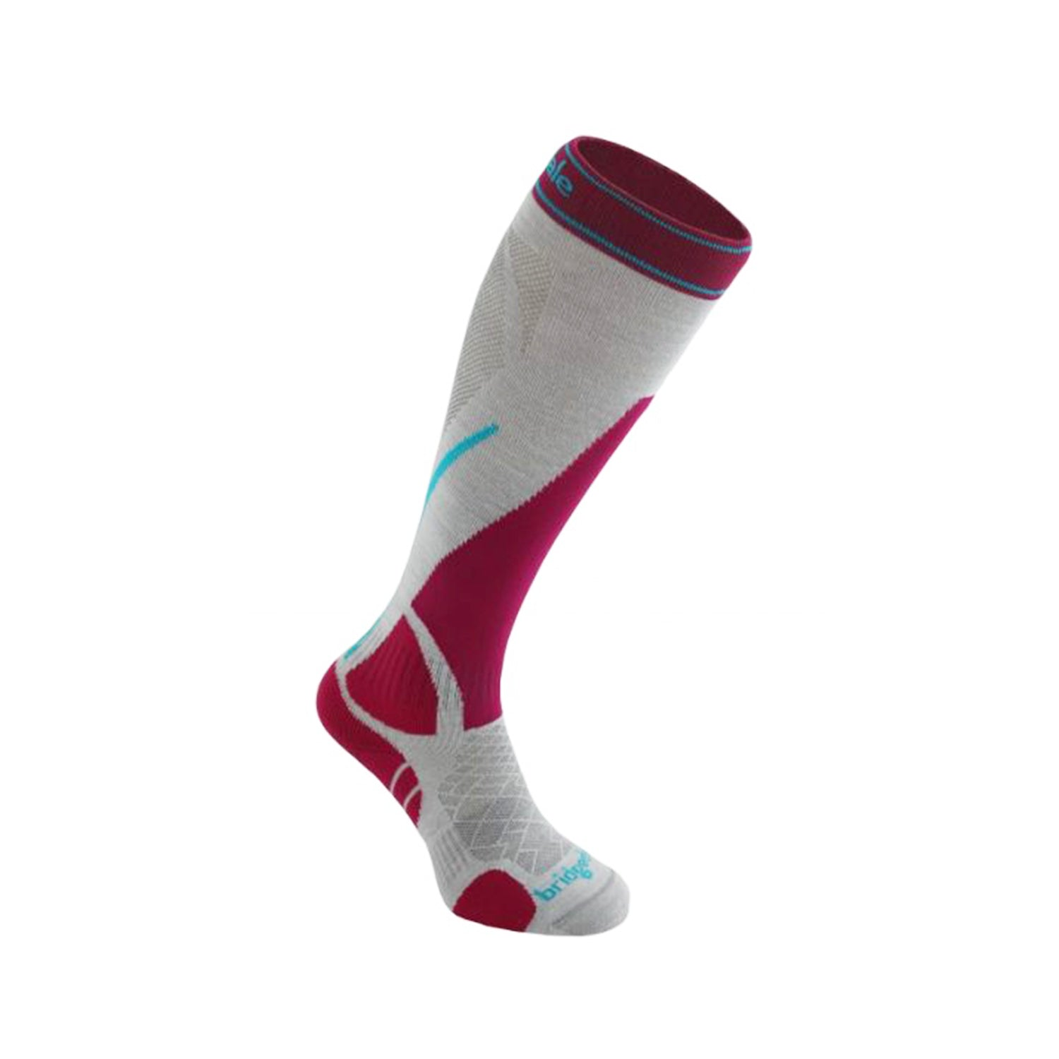 Bridgedale Women Merino Fusion Ski Socks - Vertige Light