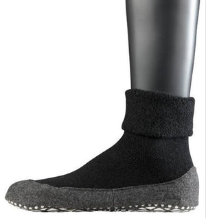Falke Men's Cosyshoe Slipper Socks - Black