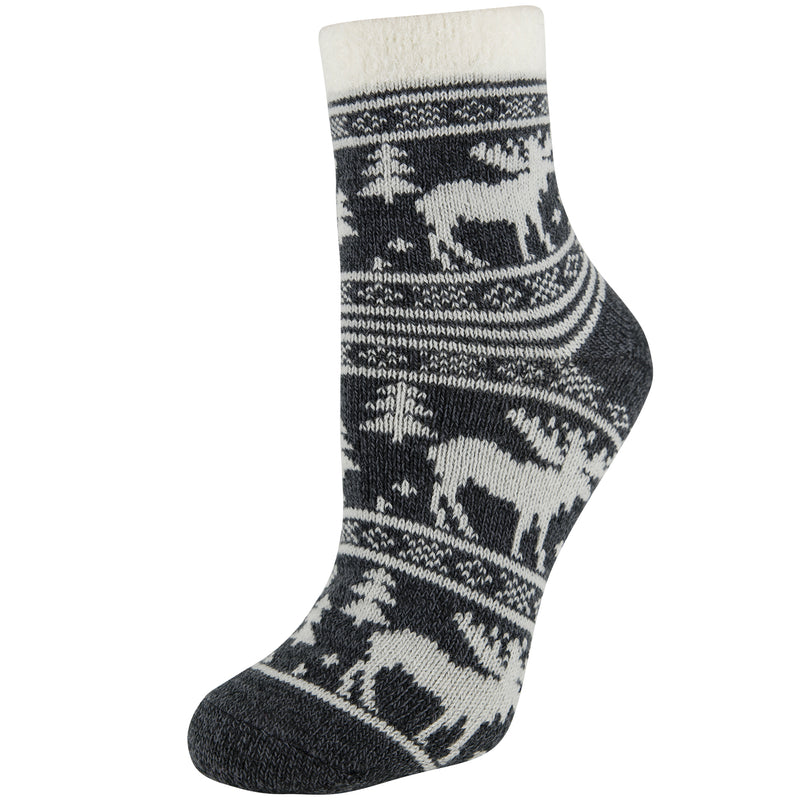 Sof Sole FIRESIDE Women's Indoor Socks - Moose