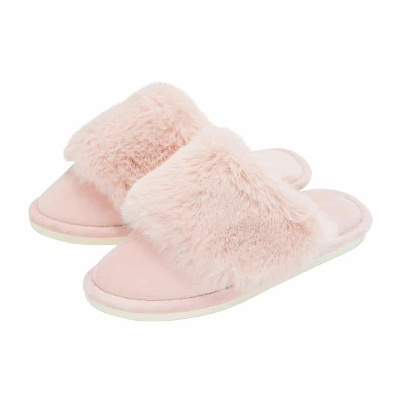 Annabel Trends Cosy Luxe Slippers - Pink