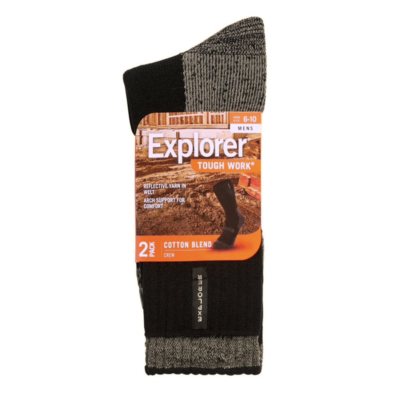 Explorer Tough Work Socks (2-Pack)