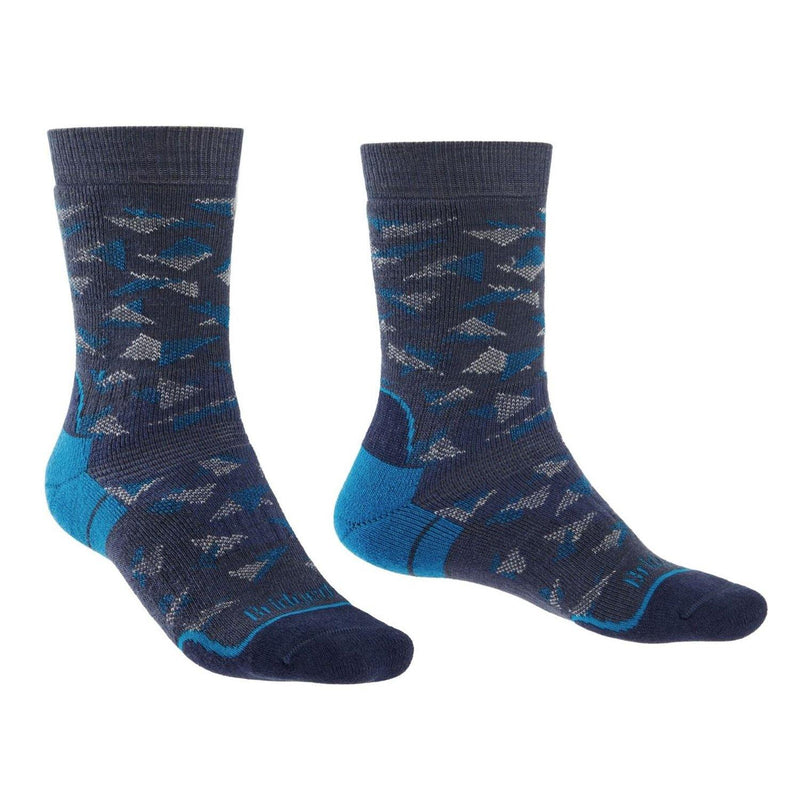 Bridgedale MERINO HIKE Socks (Midweight Blue Denim)