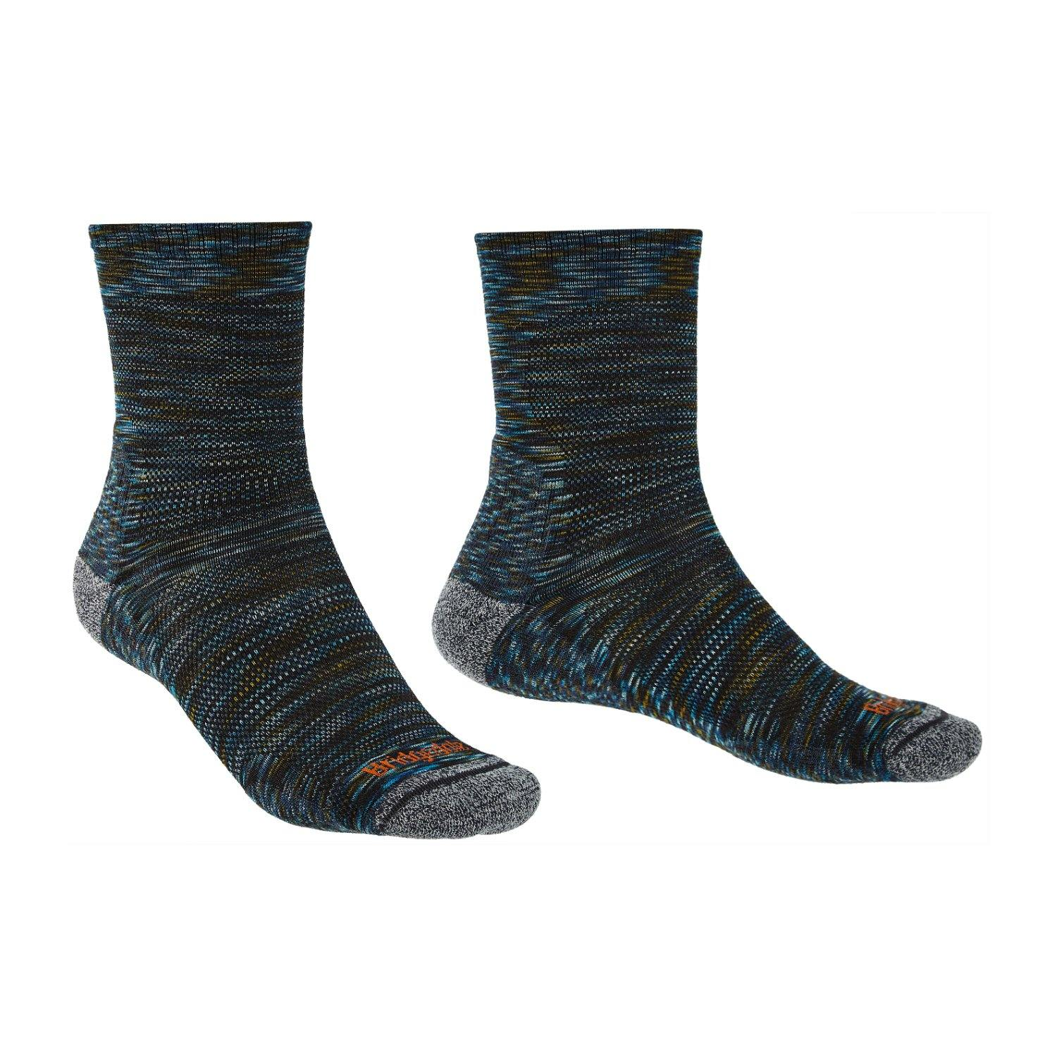 Bridgedale MERINO Performance HIKE Socks (Ultra Light Green)