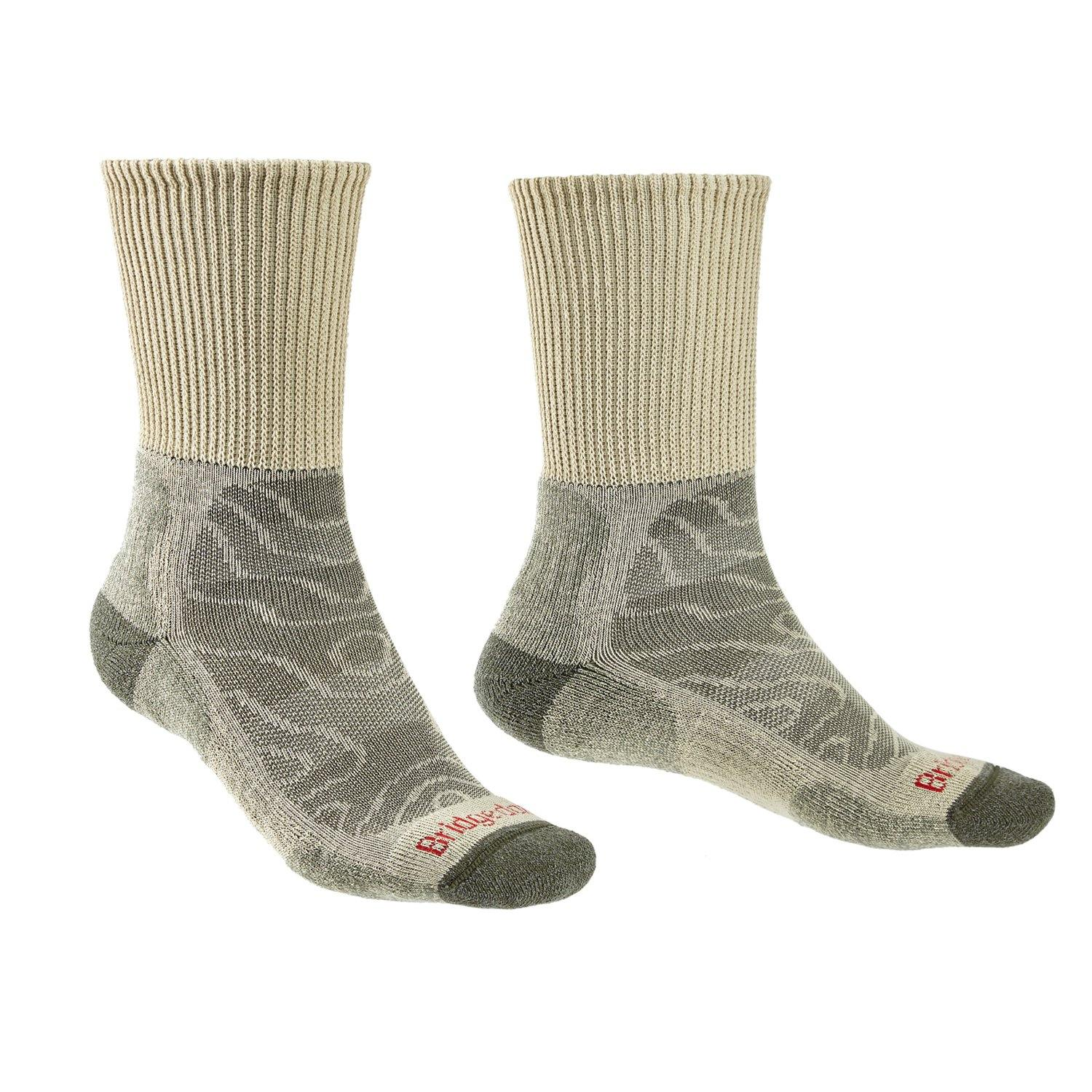 Bridgedale MERINO HIKE Comfort Socks (Lightweight Natural)