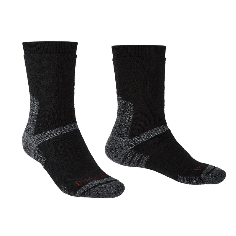 Bridgedale MERINO Performance EXPEDITION Socks (Heavyweight Black)