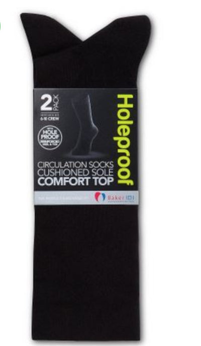Holeproof Men's Circulation Socks - 2 Pack