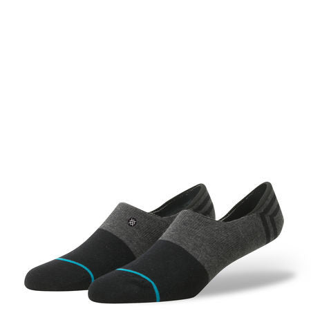 Stance Gamut No Show Socks (Black) | Stance Men's Super Invisible Socks
