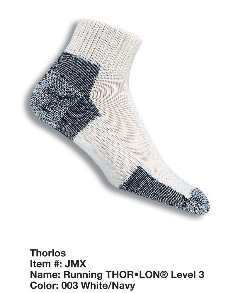 Thorlo thick running min crew socks JMX