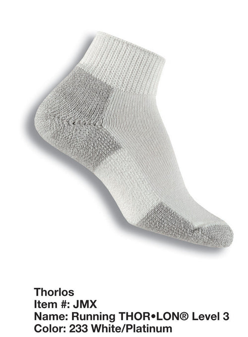 Thorlo thick running mini crew socks JMX