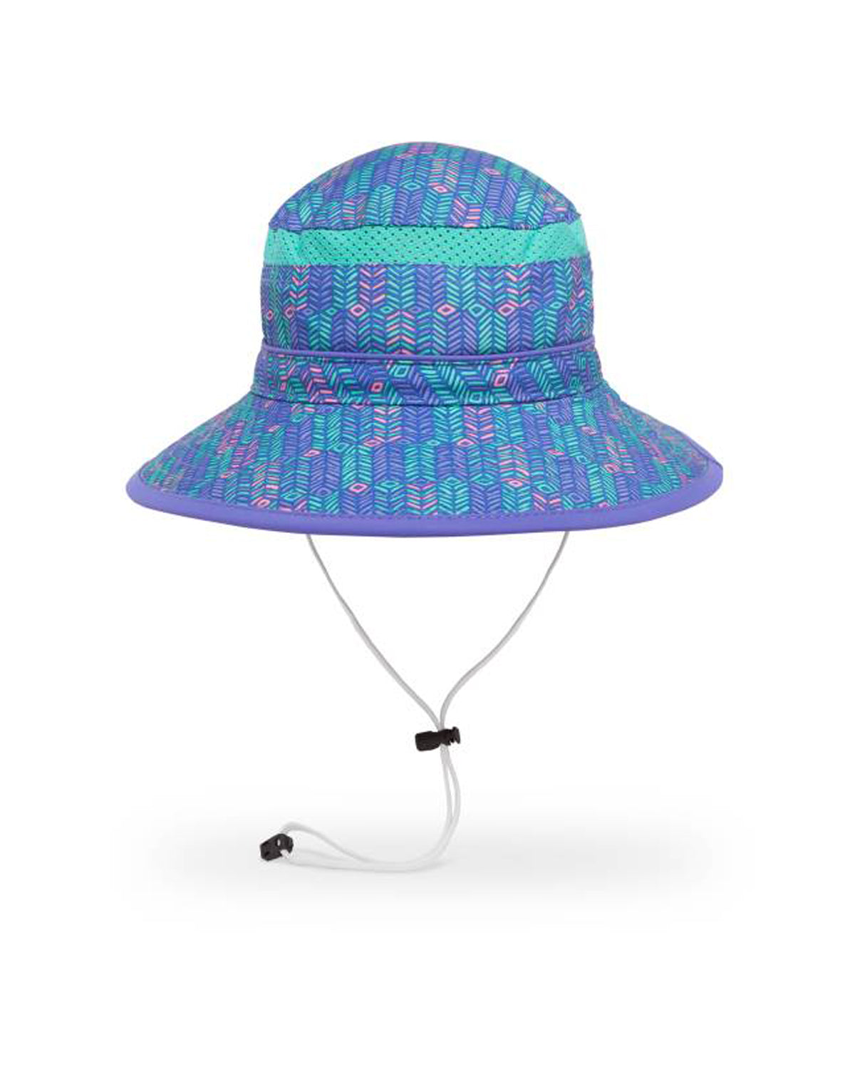 Kids Fun Bucket Hat - Purple Arrow