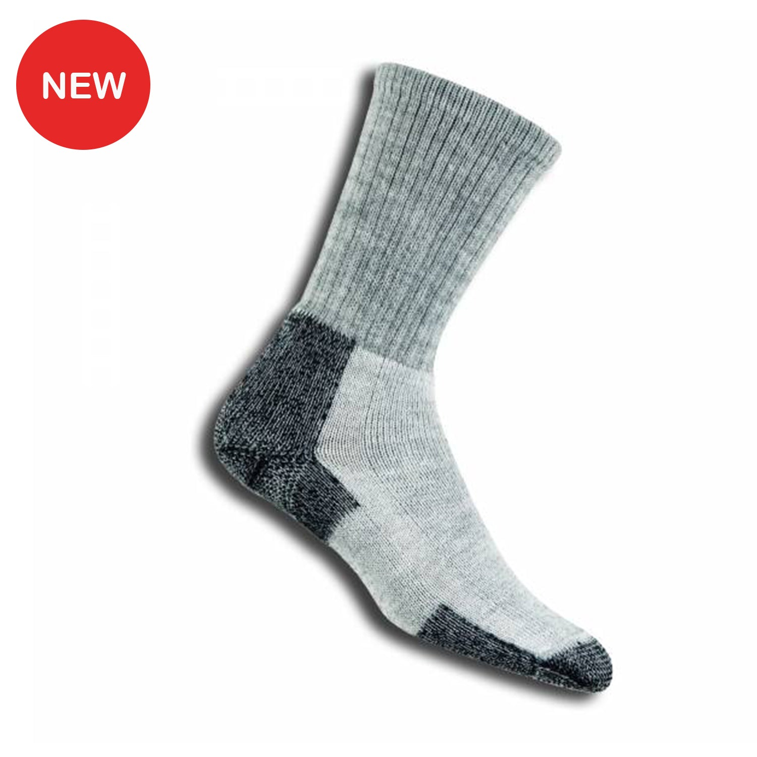 Thorlo Wool Hiking Socks (KLT) - Grey/Black