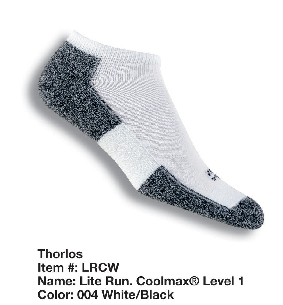 Thorlo coolmax running thin socks LRCW