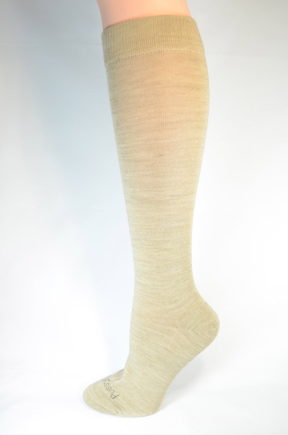 Pussyfoot Women's Merino Knee High - Beige