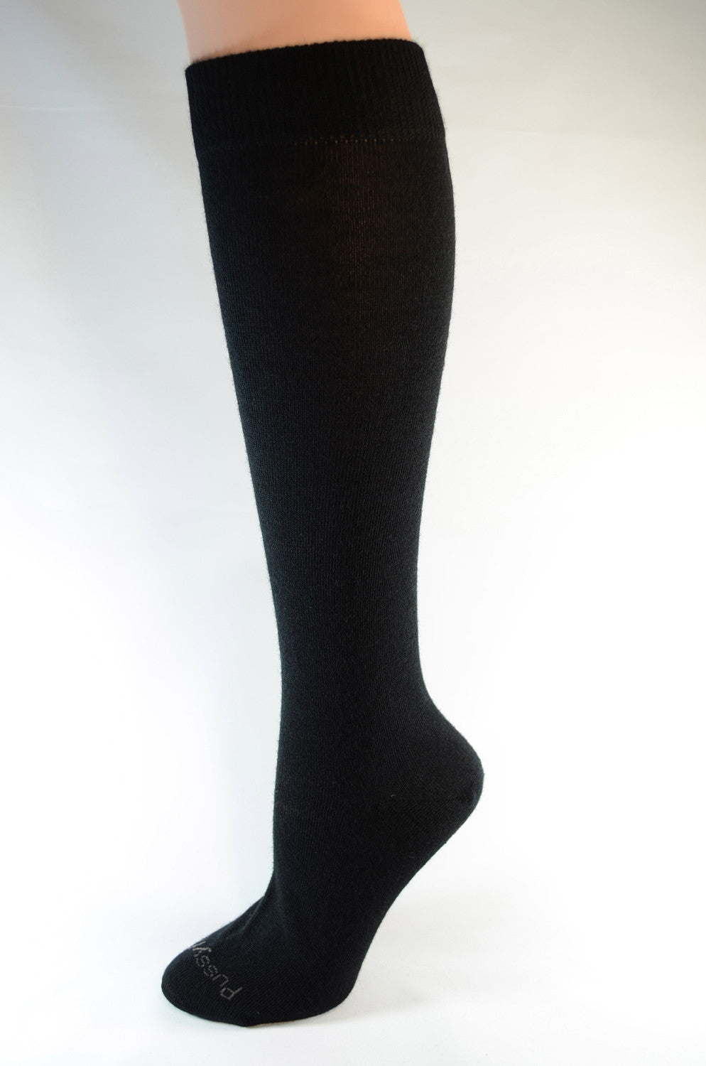Pussyfoot Women's Merino Knee High - Black