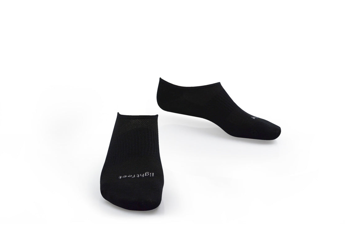 Lightfeet Lightweight Invisible Socks  - Black