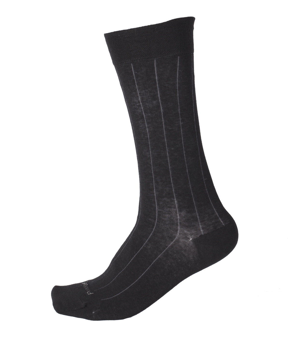 Pussyfoot Non Tight Broad Rib Health Socks - Black