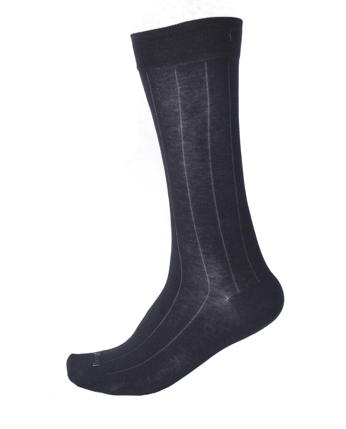 Pussyfoot Non Tight Broad Rib Health Socks - Navy