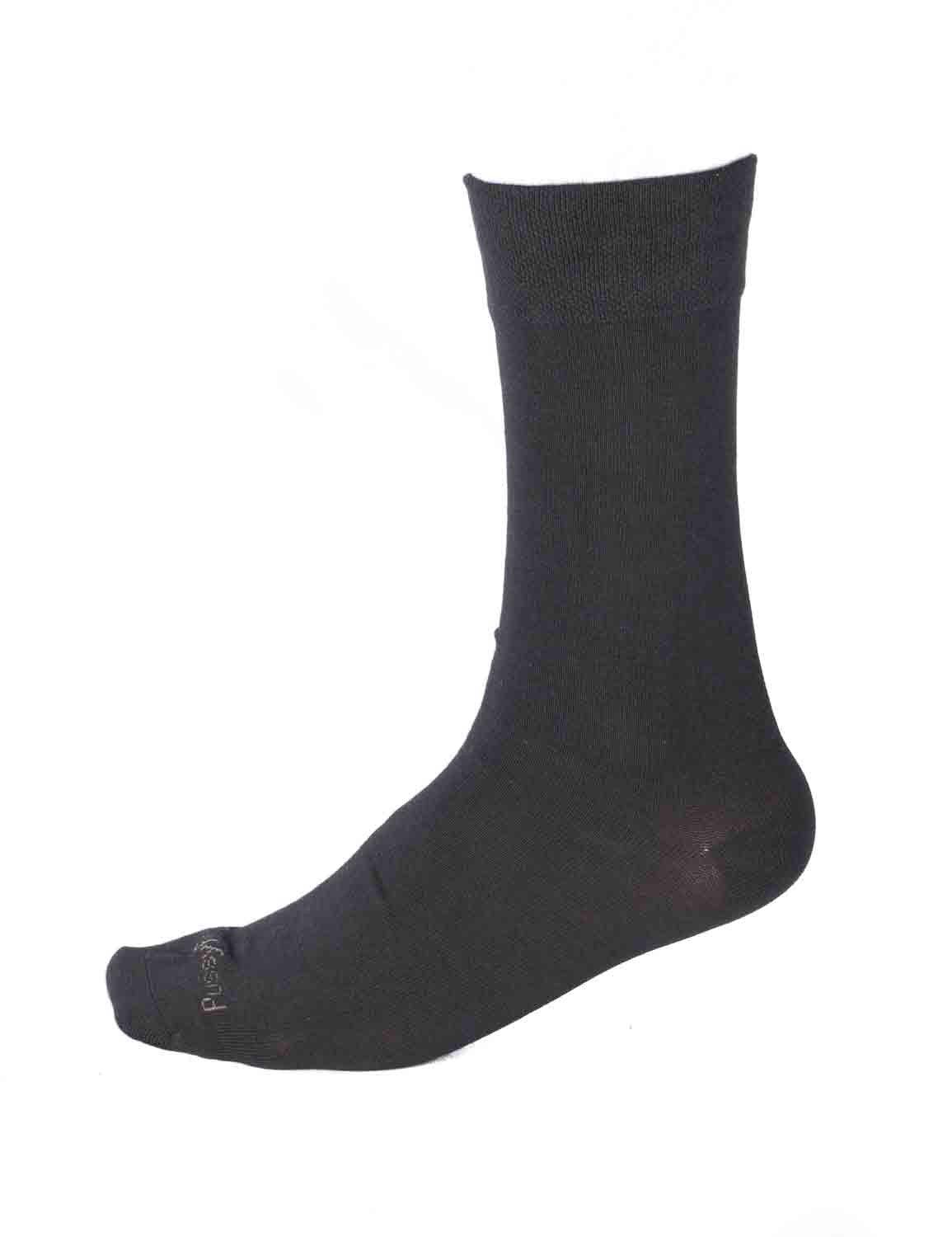 Pussyfoot Non Tight Bamboo/Cotton Health Socks - Black