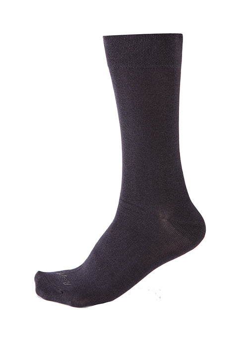 Pussyfoot Non Tight Bamboo/Cotton Health Socks - Navy