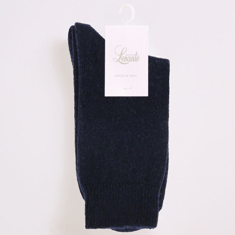 Levante Pina Crew Socks - Navy