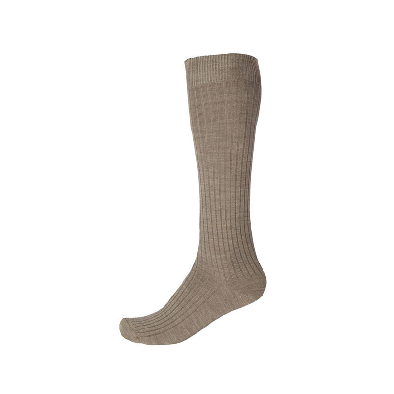 Pussyfoot Men's Wool Long Socks - Beige