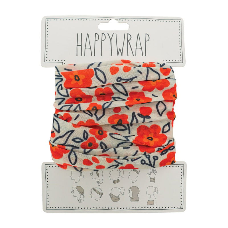 Annabel Trends Happy Wrap - Red Floral