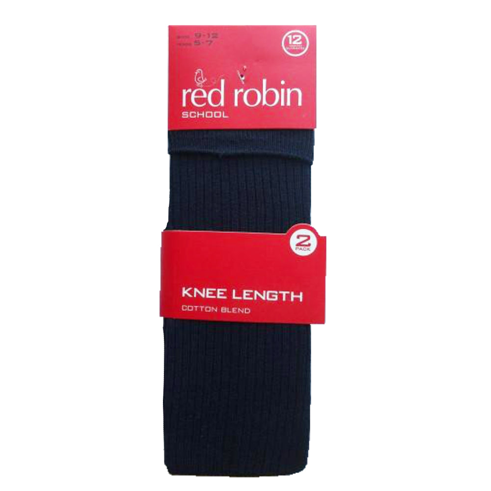 5daedf26954 Red Robin Kids Knee High School Socks - 2 Pack - socksforliving.com