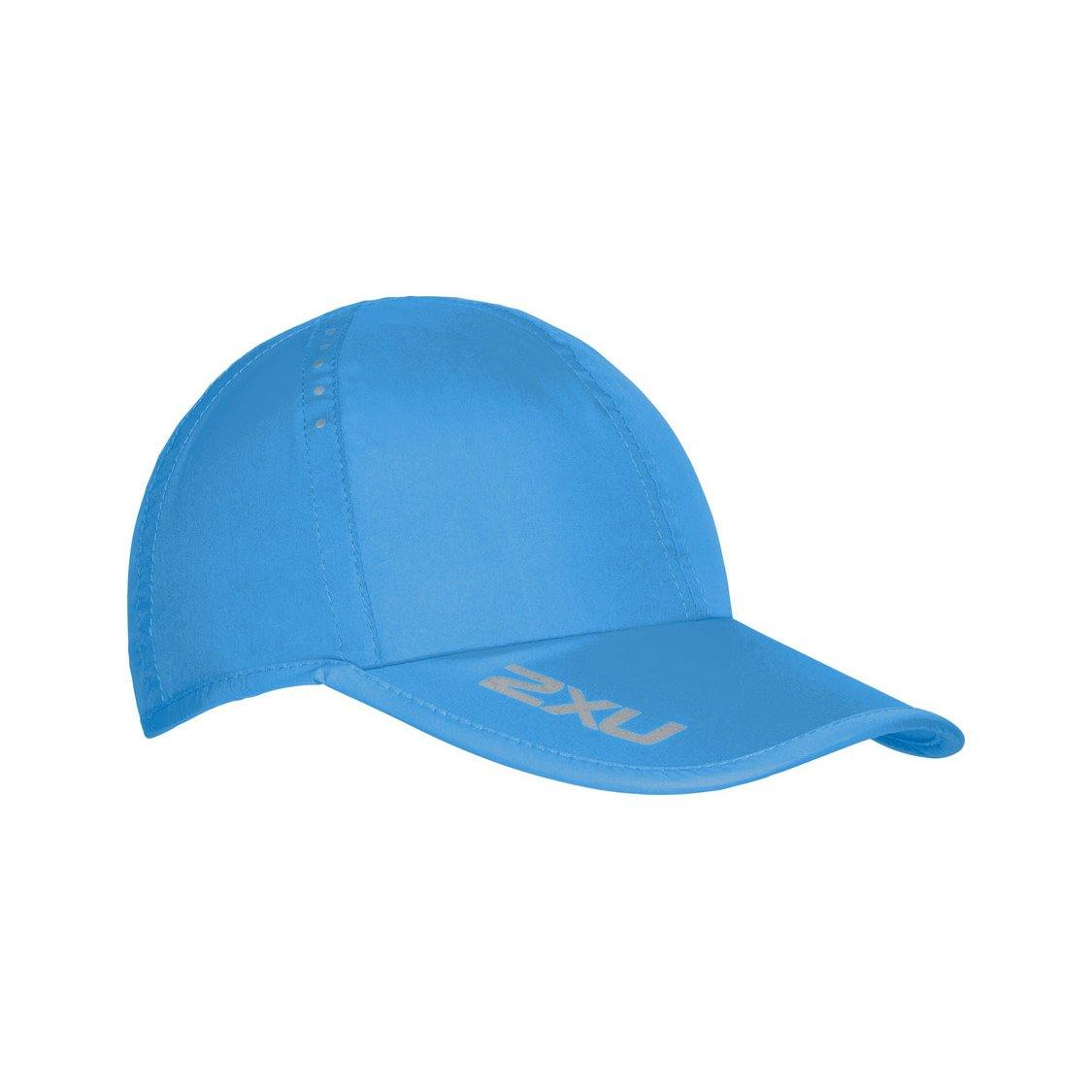 2XU Running Cap - Silver Lake