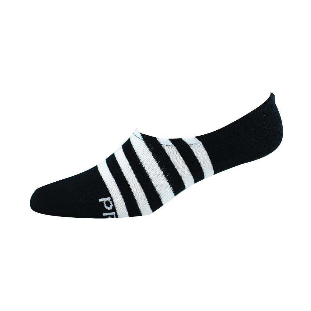 Bamboozld Women's Bamboo Secret Socks - Black/White