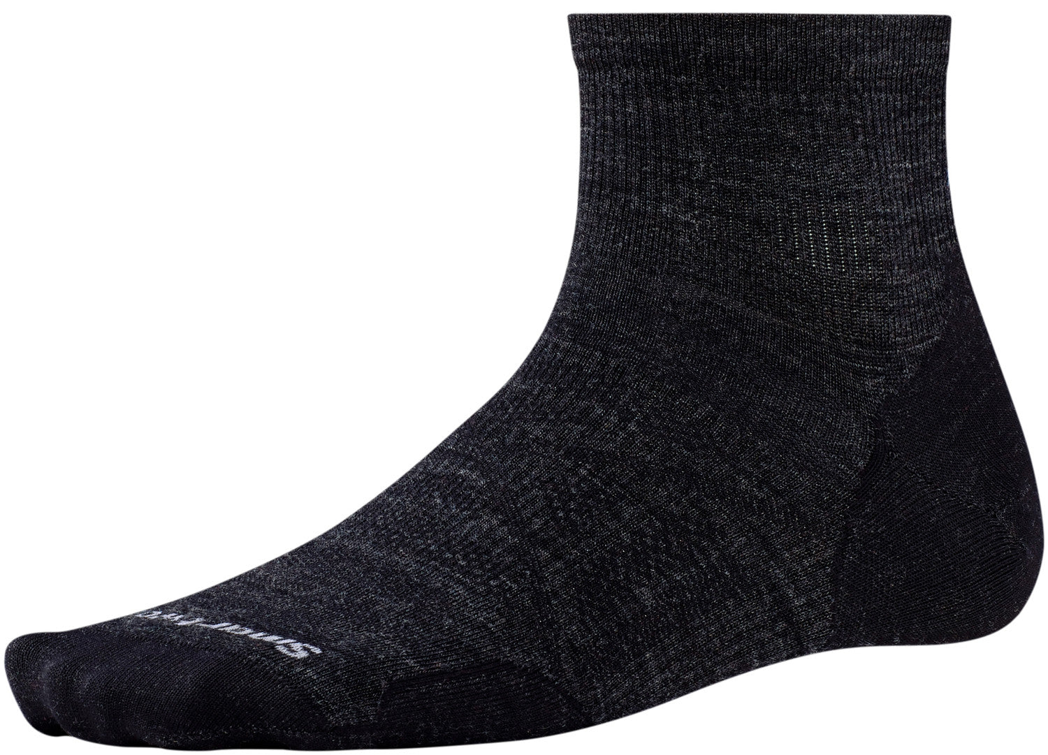 Smartwool Indestructawool™ PhD Outdoor Ultra Light Mini Socks - Charcoal