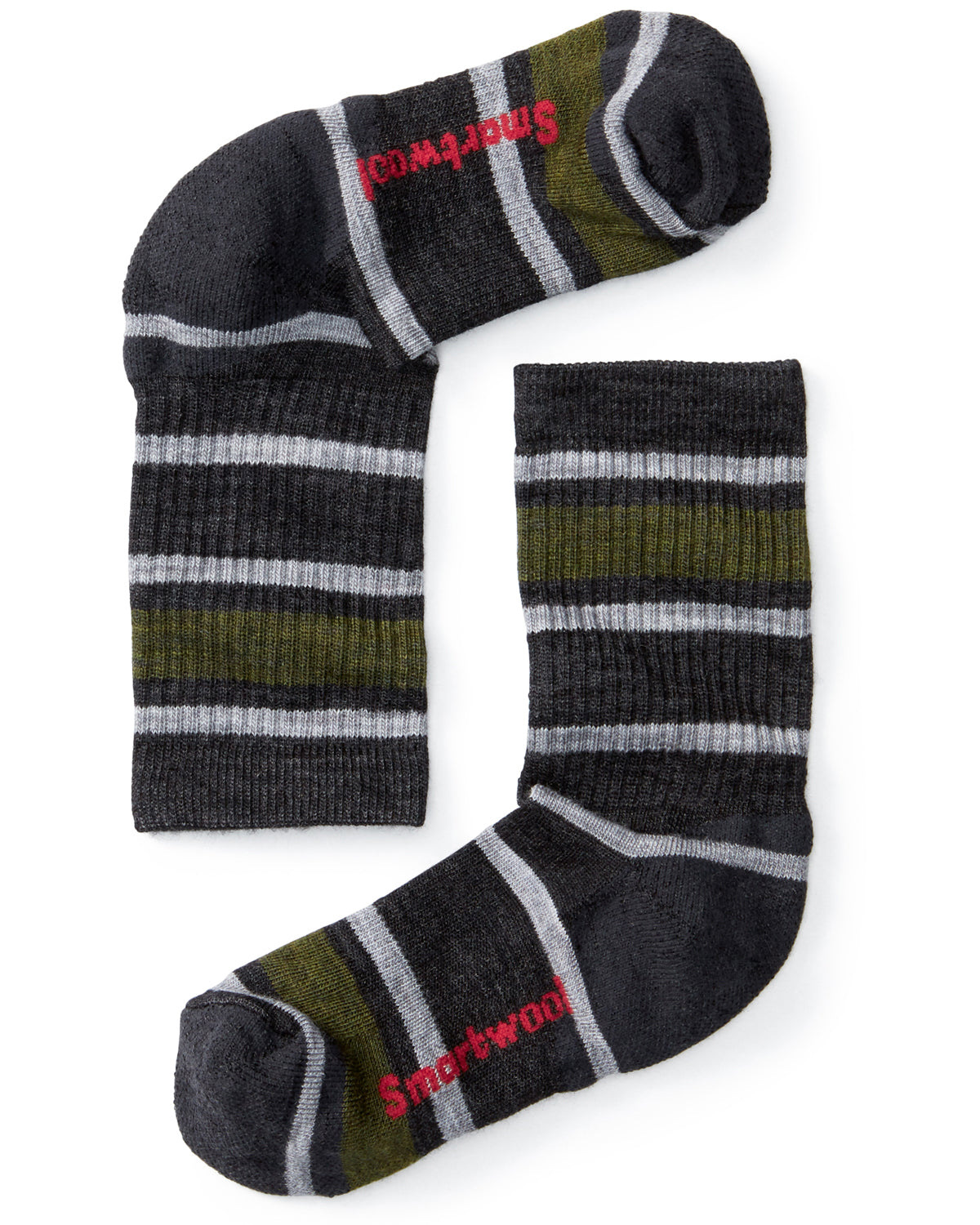 Smartwool Kids Hiking Light Crew - Charcoal