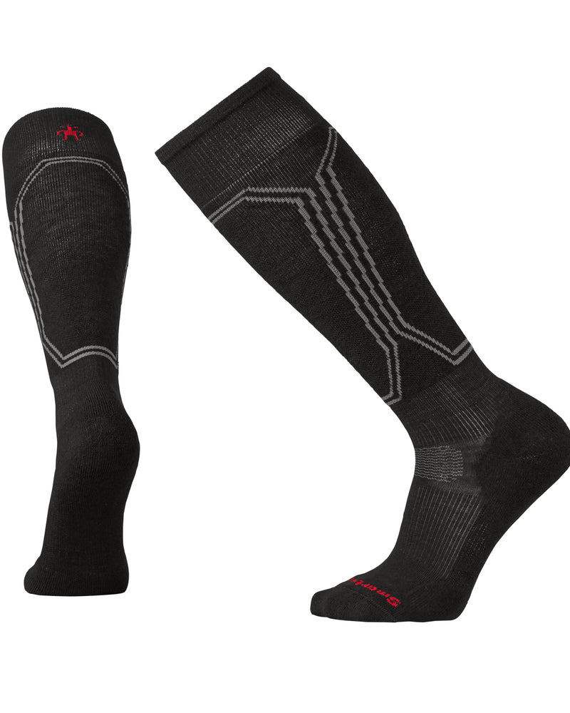 Smartwool Indestructawool™ Slopestyle PhD Snowboard Light Socks - Black