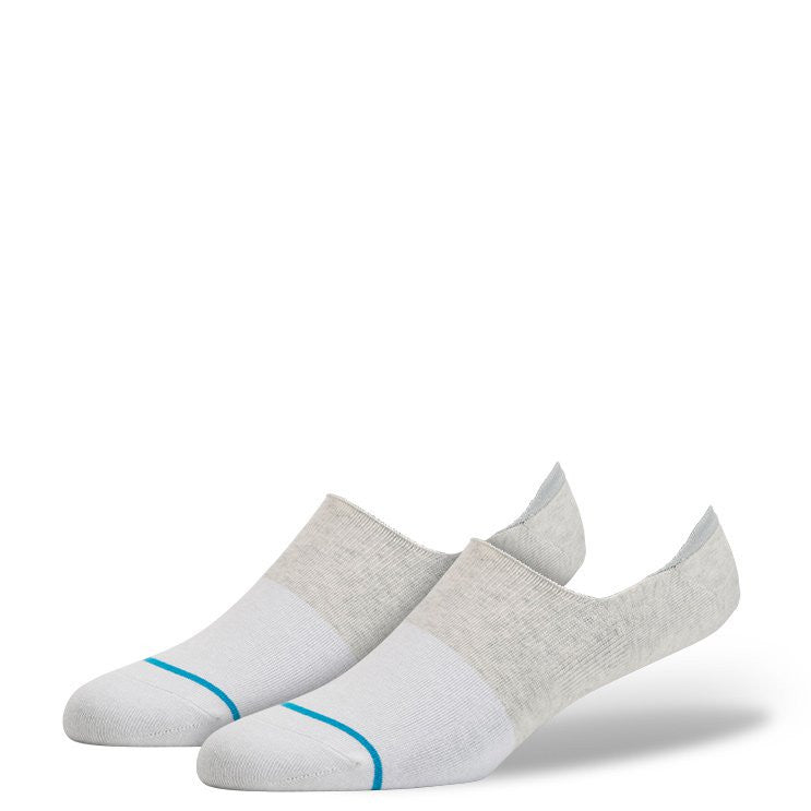 Stance Spectrum Super No Show Socks (White)