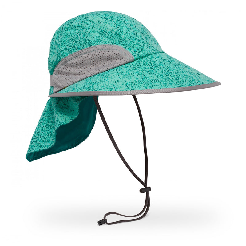 Sport Hat - Teal Kaleidoscope