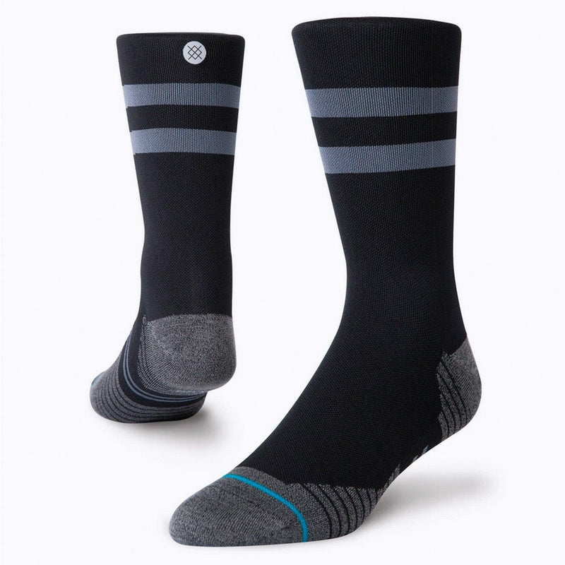 Stance Light Crew ST Running Socks (Black)