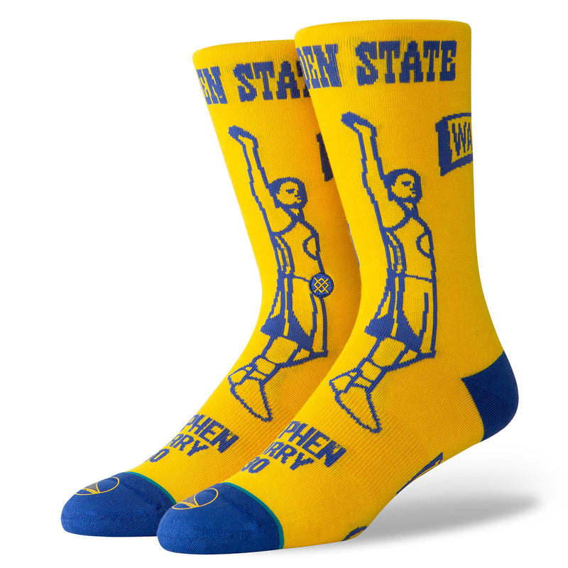 Stance Stephen Curry Stencil Basketball Socks