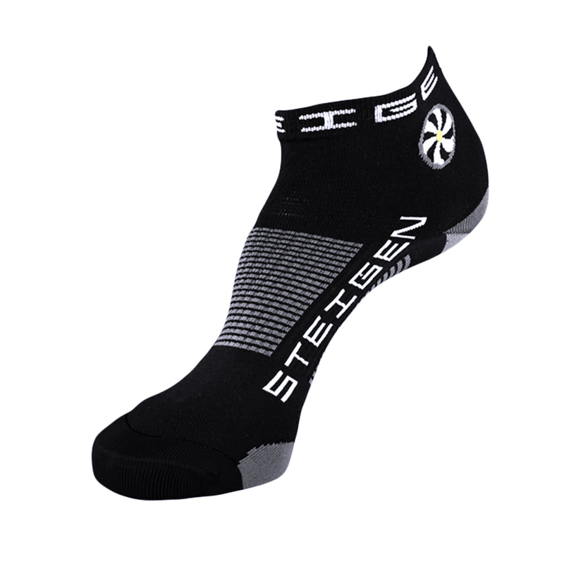 Steigen Running Socks Quarter - Black