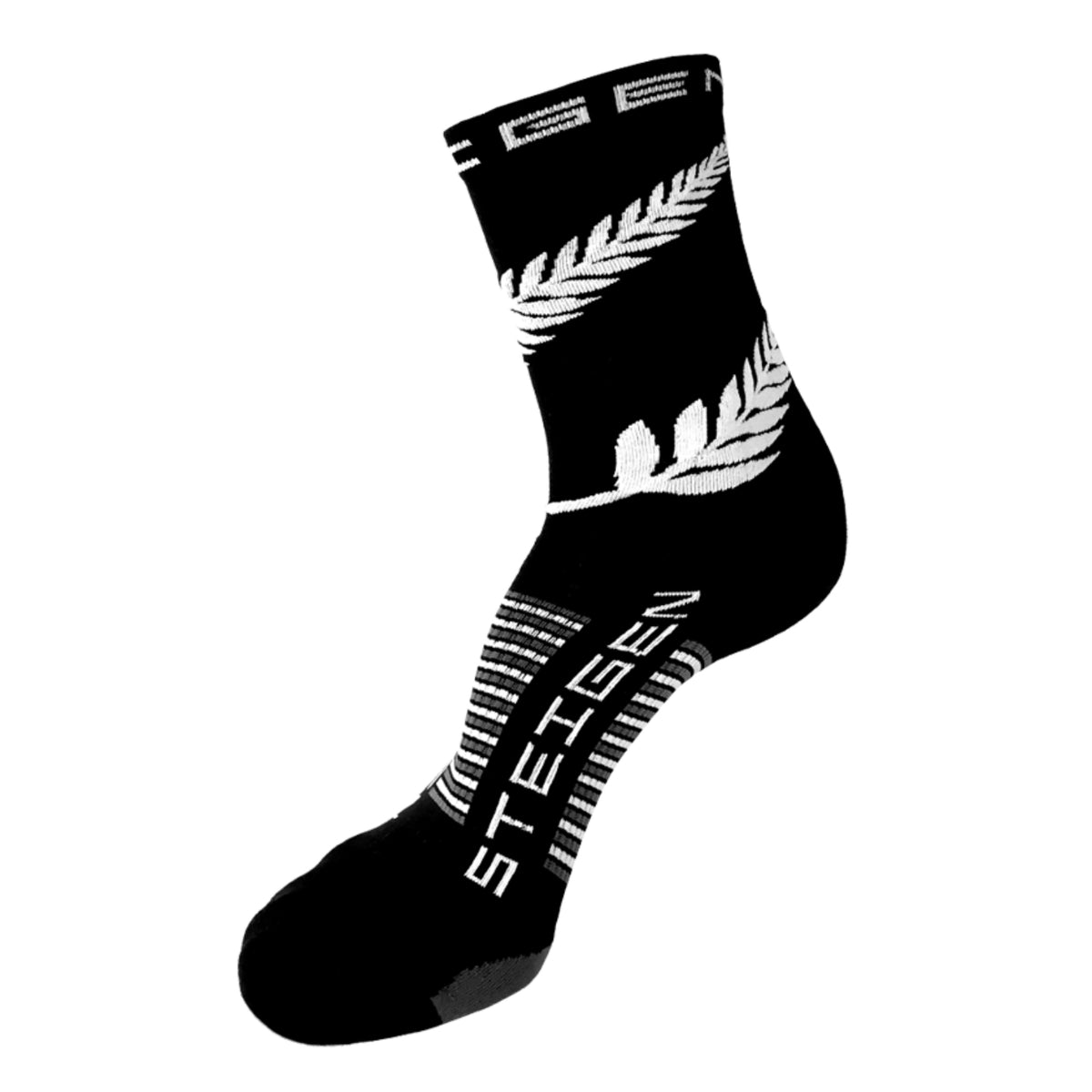 Steigen Running Socks 3/4 Crew - New Zealand
