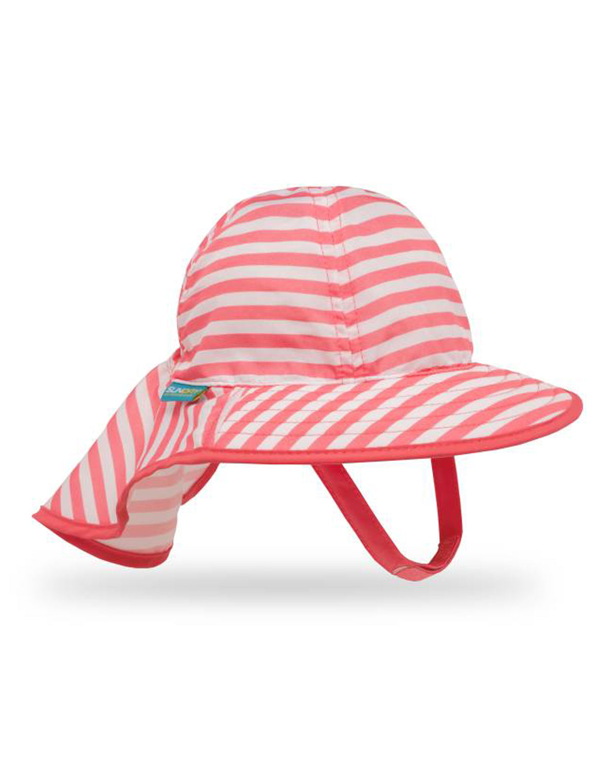 Infant Sun Sprout - Coral Stripe