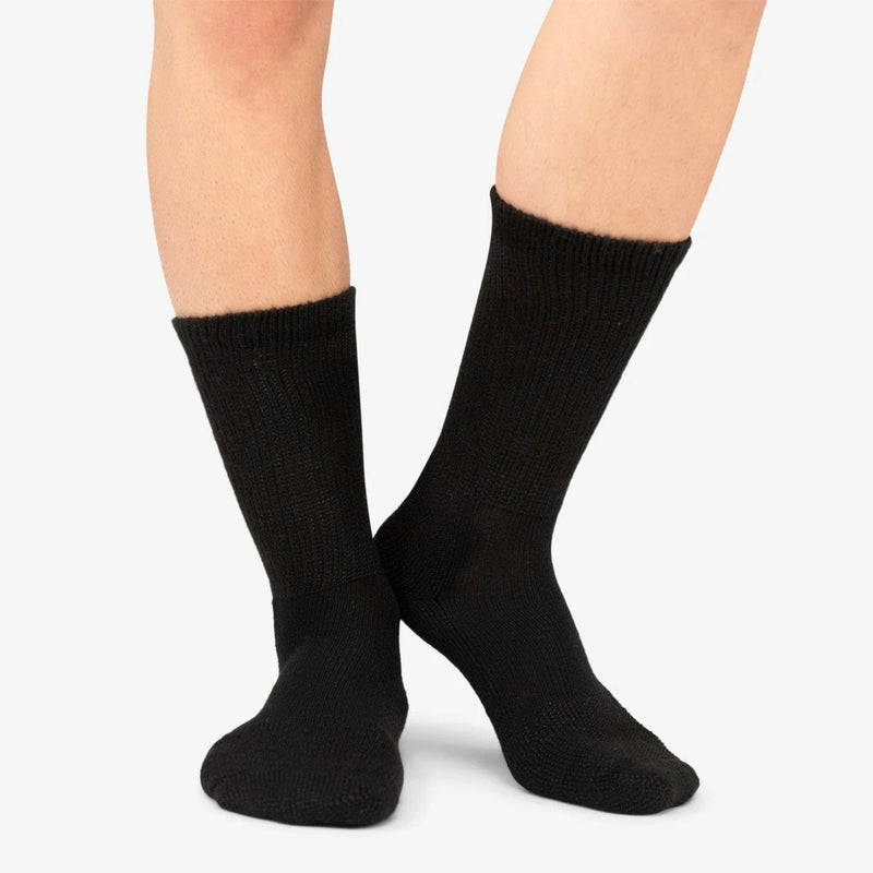 Thorlo Unisex Safety Toe Work Socks (Black)