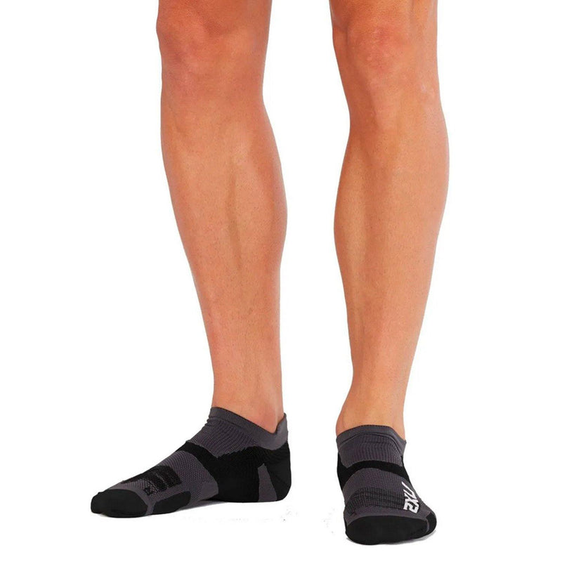 2XU Vectr Ultralight No Show Socks - Advanced Plantar Fascia - socksforliving.com